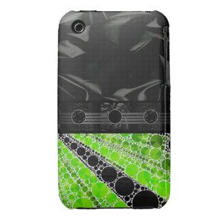 Extracto verde de neón de lujo Case-Mate iPhone 3 funda