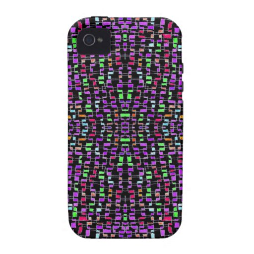 Extracto verde púrpura oscuro del caso duro iPhone 4 carcasa