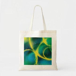 Extracto verdoso bolsa de mano