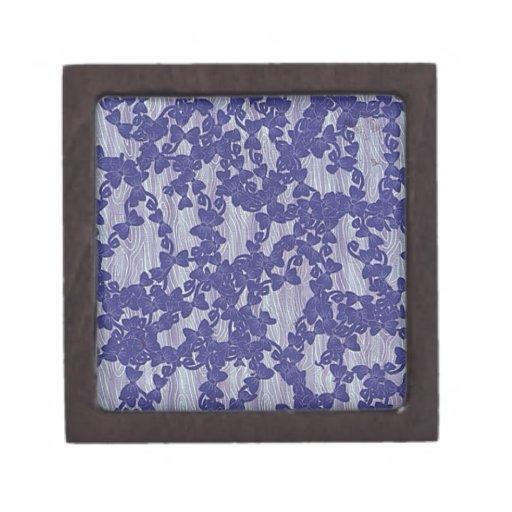 extracto violeta del papel pintado cajas de regalo de calidad