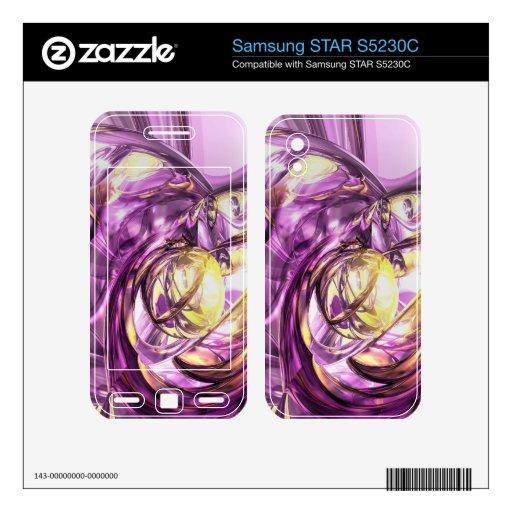 Extracto violeta del verano samsung STAR S5230C skin