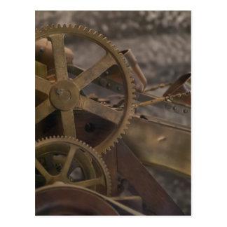 Extractor miniatura del oro postales