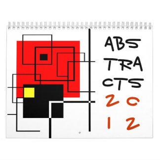 extractos 2012 calendarios de pared