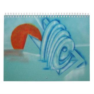 Extractos en el color - 2011 calendario de pared