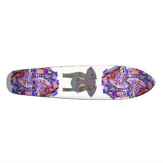 Extractos y elefante tatuado patineta personalizada