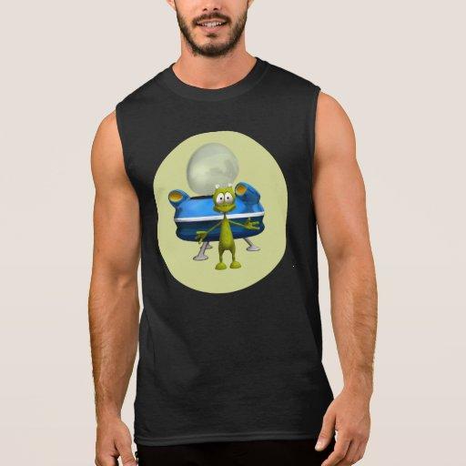 Extranjero amistoso camiseta sin mangas