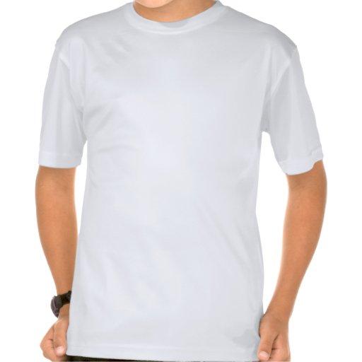 Extranjero amistoso camisetas