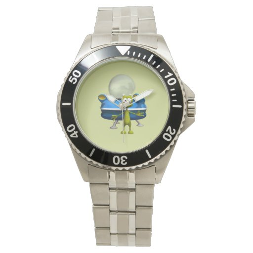 Extranjero amistoso reloj