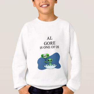 extranjero de Al Gore Sudadera