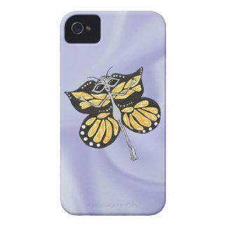 Extranjero de la mariposa Case-Mate iPhone 4 fundas