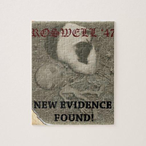 Extranjero de Roswell del conejillo de Indias Rompecabezas Con Fotos