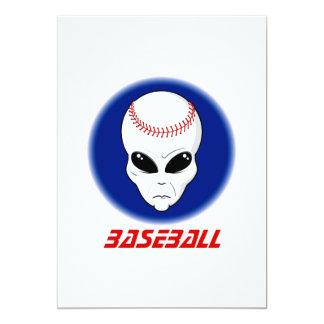 Extranjero del béisbol anuncios personalizados