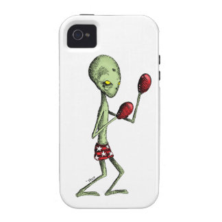 Extranjero del boxeo iPhone 4/4S carcasa