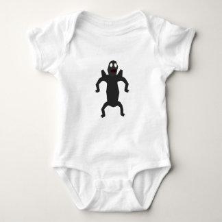 Extranjero negro body para bebé