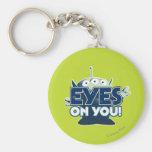 Extranjero: ¡Ojos en usted! Llavero Personalizado