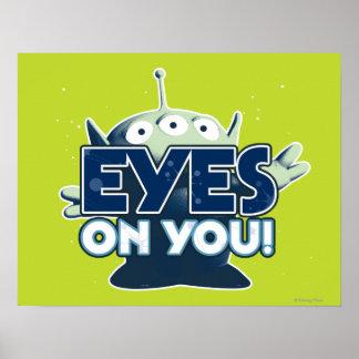 Extranjero ¡Ojos en usted Impresiones