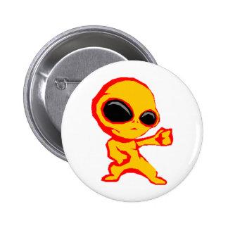 Extranjero Pin Redondo 5 Cm