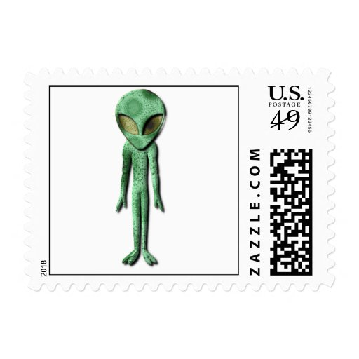 Extranjero que es sello postal