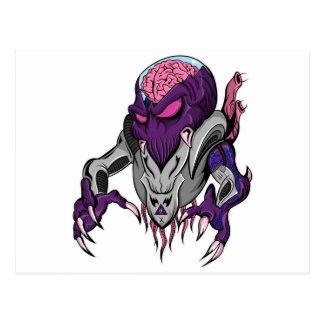 Extranjero robótico de Brainiac Postal