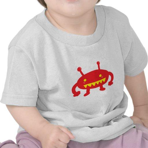 Extranjero rojo camisetas