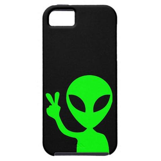 Extranjero verde iPhone 5 Case-Mate carcasas