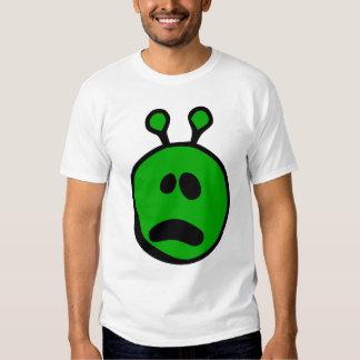 Extranjero verde qué cara poleras