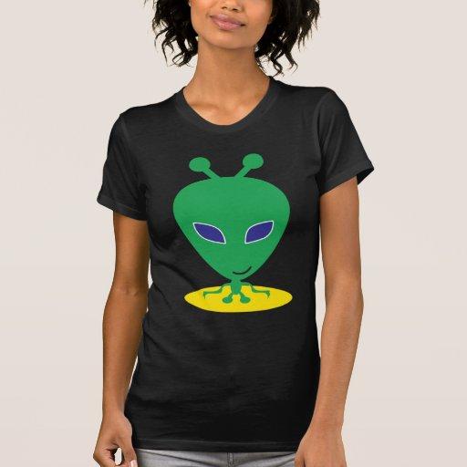 Extranjero verde t-shirts