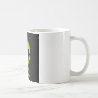 Extranjero verde taza de café