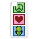 Extranjeros del amor de la paz iPhone 5 Case-Mate coberturas