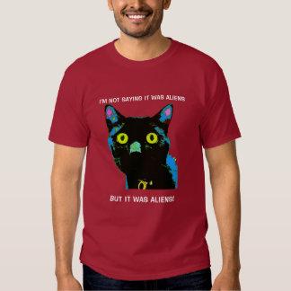 ¡Extranjeros del gato negro! camiseta Playera