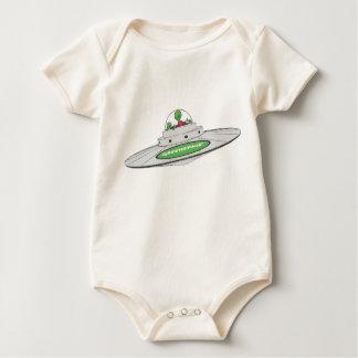 Extranjeros del UFO de GreenSpace Body De Bebé