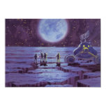 Extranjeros y luna Rover de la ciencia ficción del Invitaciones Personales