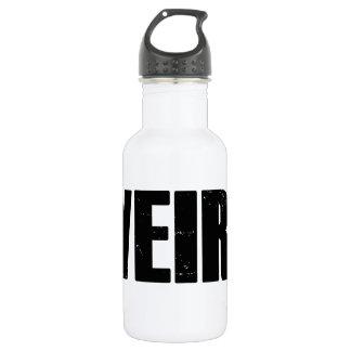 Extraño Botella De Agua De Acero Inoxidable