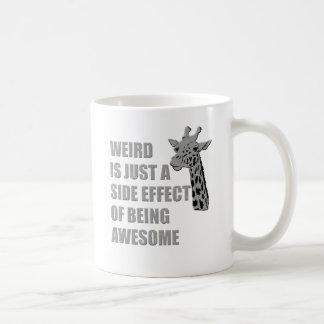 Extraño es apenas un efecto secundario de ser impr taza de café