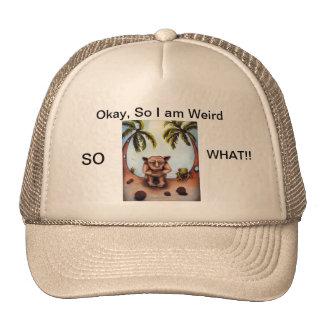 extraño gorras de camionero
