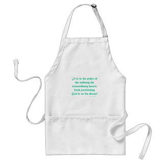 extraordinary adult apron