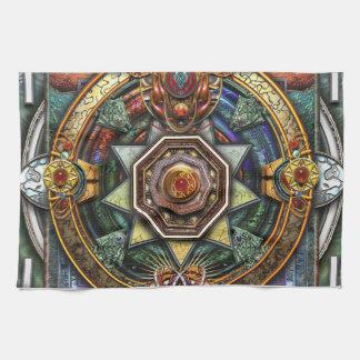 Extraordinary Celtic Mandala Hand Towel