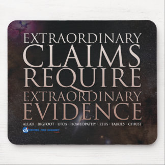 Extraordinary Claims Mouspad Mouse Pad