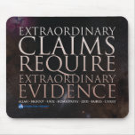 Extraordinary Claims Mouspad Mouse Pads