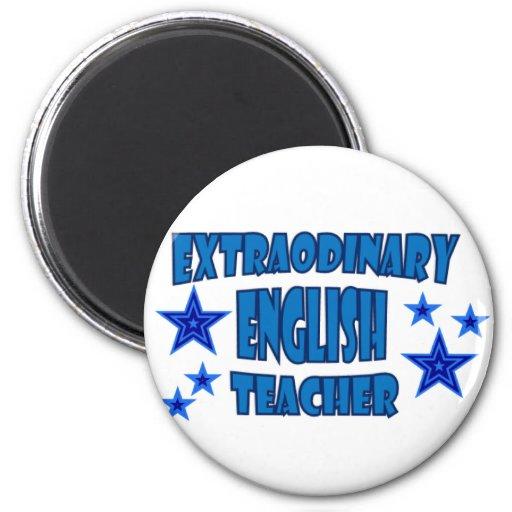 EXTRAORDINARY ENGLISH TEACHER 2 INCH ROUND MAGNET