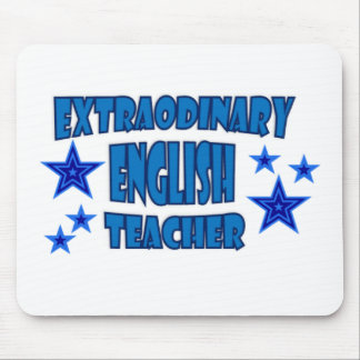 EXTRAORDINARY ENGLISH TEACHER MOUSE PAD