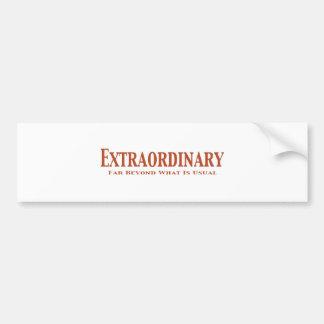 Extraordinary Gifts Bumper Sticker