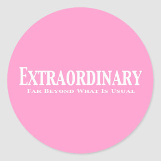 Extraordinary Gifts Classic Round Sticker