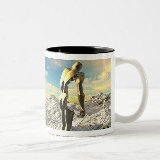 Extraordinary Heights, by Joseph Maas Two-Tone Coffee Mug