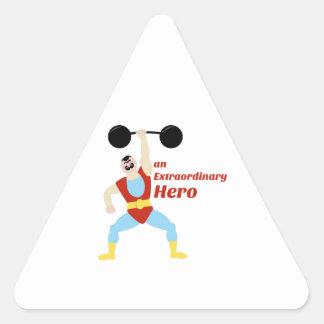 Extraordinary Hero Stickers