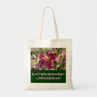 Extraordinary Leadership gifts Tote Bags Lily