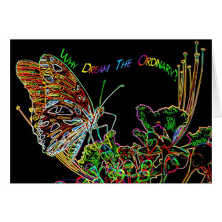 Extraordinary Neon Dreams Nov06 Stationery Note Card
