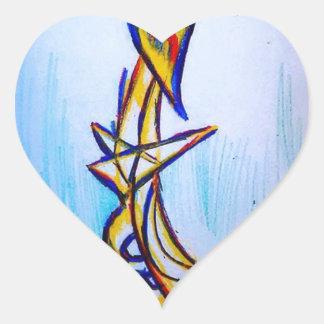 Extrapolación de los geómetras de la tolerancia pegatina en forma de corazón
