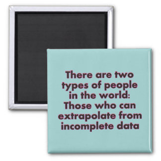 Extrapolate This... 2 Inch Square Magnet