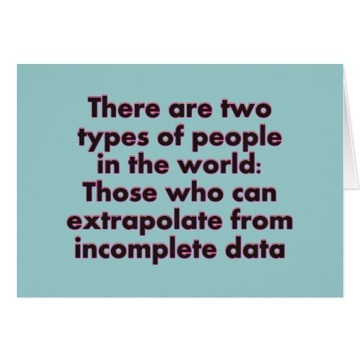 Extrapolate This... Card